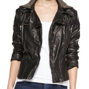 Free People Vegan Faux Leather Moto Jacket 4